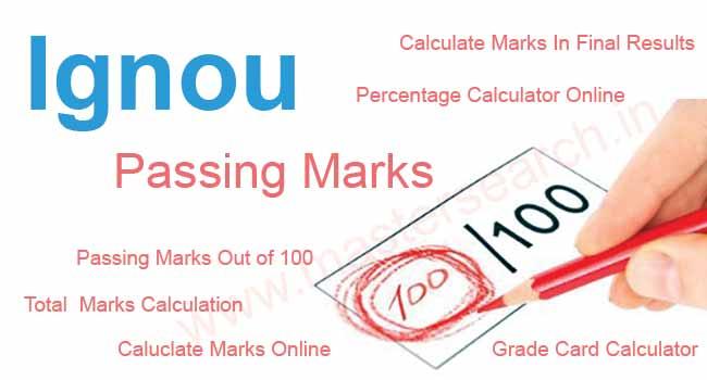 ignou-passing-marks