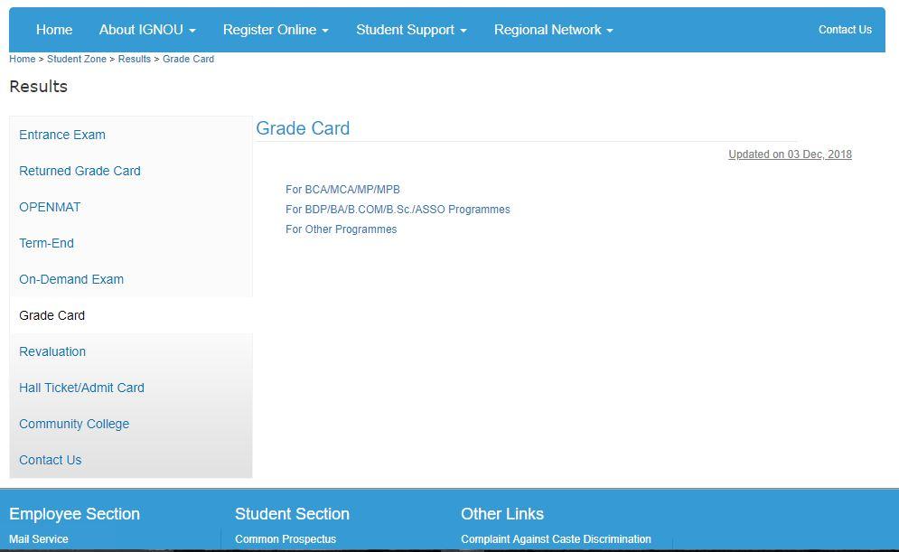 Ignou-grade-card