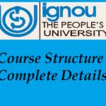 IGNOU B.A. Course Structure Complete Details