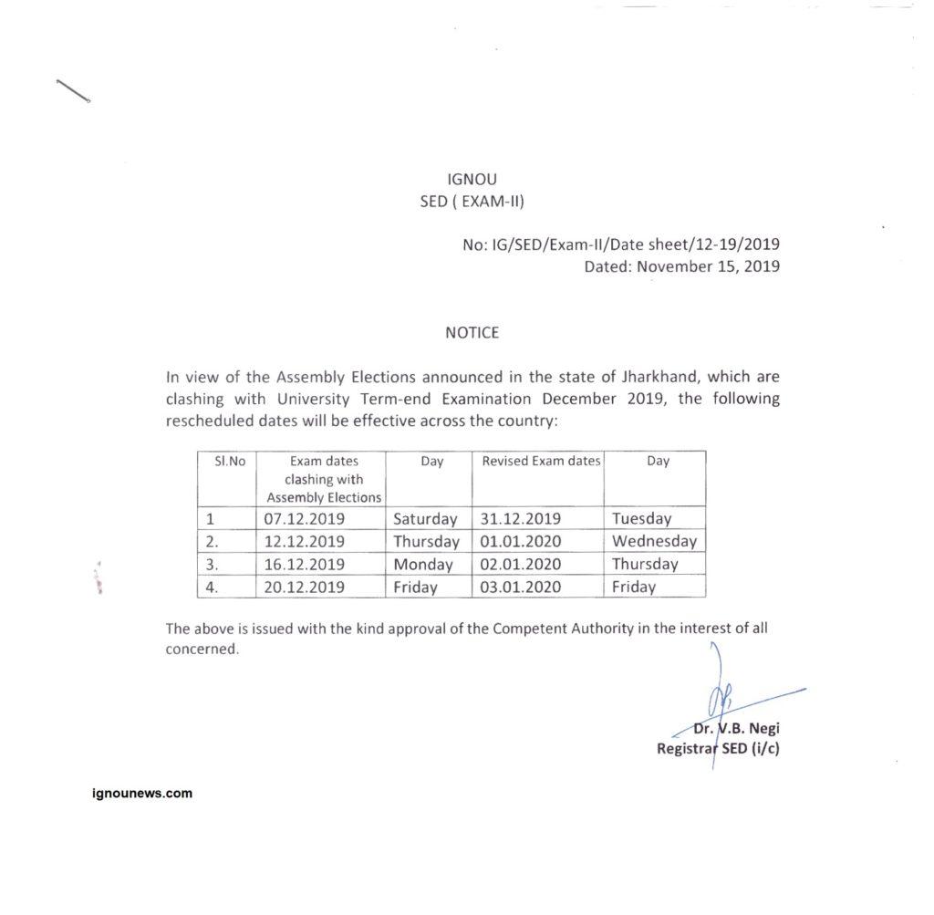 ignou-TEE-Exam-Datesheet