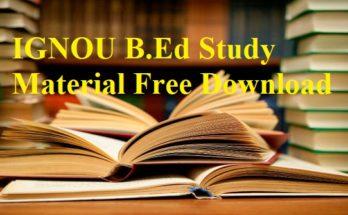 Ignou-B.ed-study-material