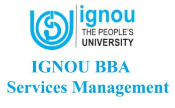 IGNOU-bba-services-management