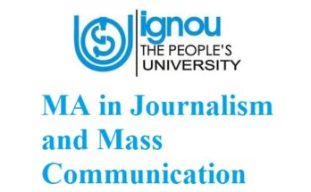 ignou-ma-in-journalism-and-mass-communication