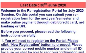 ignou-online-reregistration
