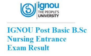 ignou-post-basic-bsc-nursing-entrance-exam-result
