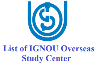 list-of-ignou-overseas-study-centre