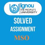 ignou-mso-solved-assignment