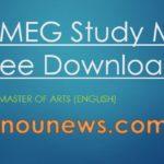 ignou-meg-study-material