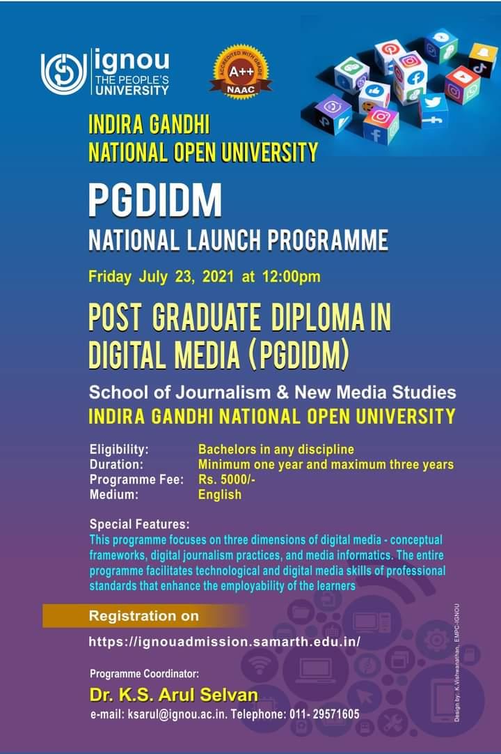 IGNOU-PG-Diploma-in-Digital-media